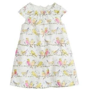 Toddler J.Crew Crewcuts Bird Song Dress